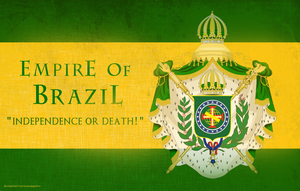 Empire of Brazil Coat Of Arms by saracennegative