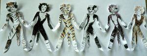 Paper Cats by bonjellicle