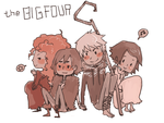 BIG FOUR by Ci-chan91