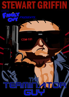 THE TERMINATOR GUY COVER by reeves83