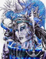 Queen of The Currents and Seafaring Men by Nebuzad0