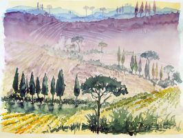 tuscany sketch by indojo