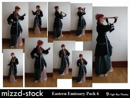 Eastern Emissary Pack 6 by mizzd-stock