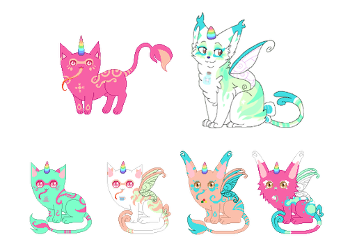 [Closed] Unicat Breeding w/The-Skittle-Overlord by L0st-Girl
