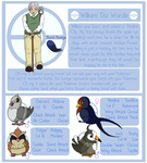 Bird Gymleader Design: William Da Worde by CCDragon-93