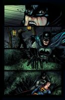 I Am the Batman Colors Page 1 by koodorshnik