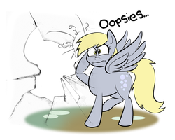 Commish:Derpy Hooves by Acesential