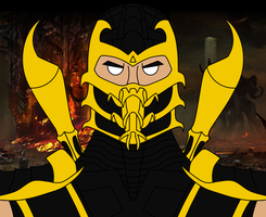 Scorpion Mugshot by The-Lone-Carbineer