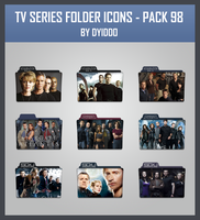 TV Series Folder Icons - Pack 98 by DYIDDO