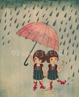We love a rainy day by superjet009