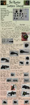 Another Toothless Clay Tutorial! by LightningMcTurner