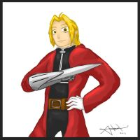 Edward Elric by Drawer888