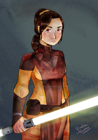 Star wars day// Bastila Shan by zaldwhen