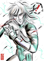 ? -Raiden Shocked- by Seraphoid