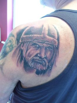 viking tattoo by LianjMc