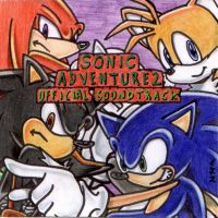 SonicAdv2 OST CD Cover by ine-rocks