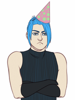 party pooper (gif) by xCountingBodiesx