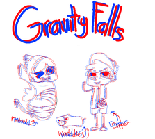 gravity falls or whatever by 6t9me