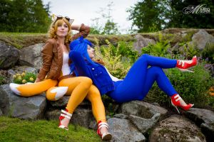 Even Super Speedsters Need a Nap by OppositeCosplay