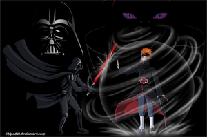 Pain Vs. Darth Vader by Chipo811