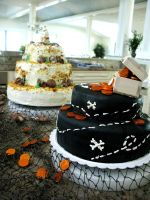 Wedding cakes by nickthesupercool