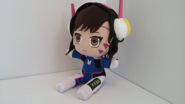 DVa plushie by NekoOnnaDesigns