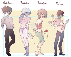 Love Adopts Batch 1 CLOSED by PastelHarlequin