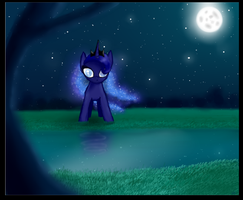 Little Luna by nopieforyouok
