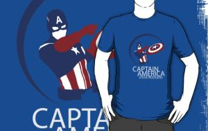 The Avengers - Captain America shirt by Mr-Saxon