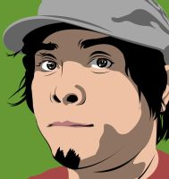 Vector Portrait of Clark Navarro by maddaluther