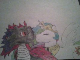 Art Trade: A duo of cuddles in flying colors :) by Tydra759