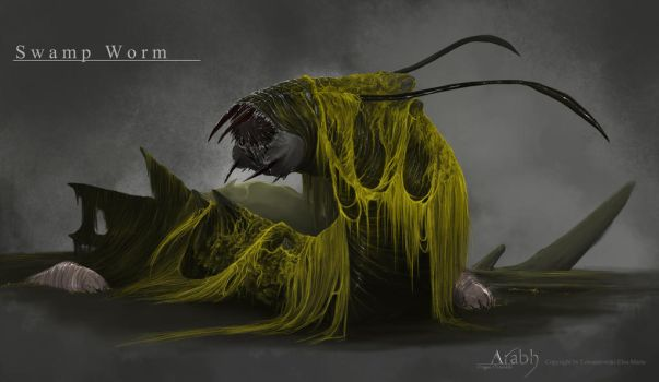 Swamp Worm Concept by Nightwing-Kain