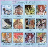 2009 A Year of Art in Review by AngelaSasser