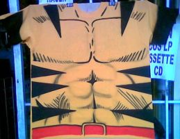 WOLVERINE T SHIRT by javiercr69