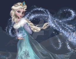 Elsa Snow Queen by MattesWorks