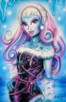 Monster High Abbey Original Painting by BiancaThompson