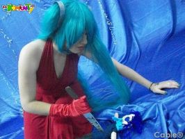 Hatsune Miku Cosplay: I love you! by ROYAL1105