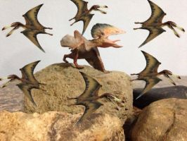 Brazilian Pterosaurs by zoome3