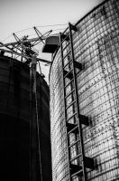 Corroded Silos by JoseAvilaPhotography