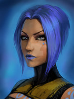 Maya_Borderlands 2 by Koshha