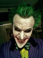 Joker Arkham Asylum Cosplay Test II by AlexWorks