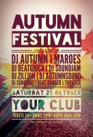 Autumn Festival Flyer by styleWish