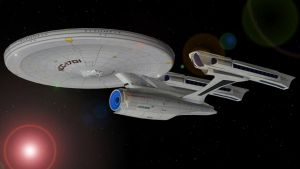 USS Enterprise Refit STXI by enterprisedavid
