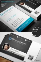 Corporate Business Card 011 by khaledzz9