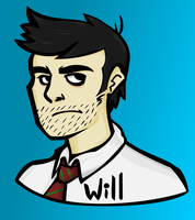 Will Doodle By Blype, Digitally Inked 'n Coloured! by fuchsia-neko