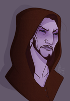 Meet the new dovah: Jarvis the grumpy dunmer by MakiLoomis