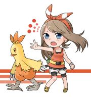 Combusken! Use Double Kick! by Unknown-Amelia