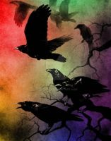 Crows - Rainbow Mode by RedSoul77