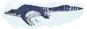 Mosasaur by Benjee10
