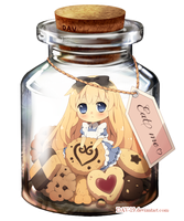 Alice in a Bottle by DAV-19